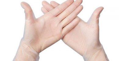 guantes desechables neopreno